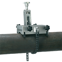 Dispositif de serrage pour 80-250 dia . tubes