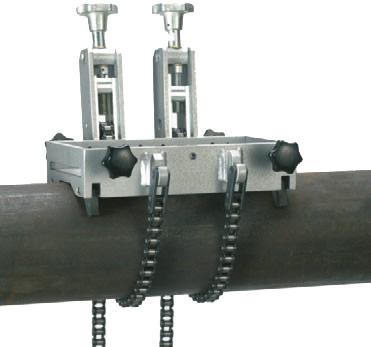 Dispositif de serrage pour 150-500 dia . tubes
