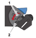 setting angle of beveling machine